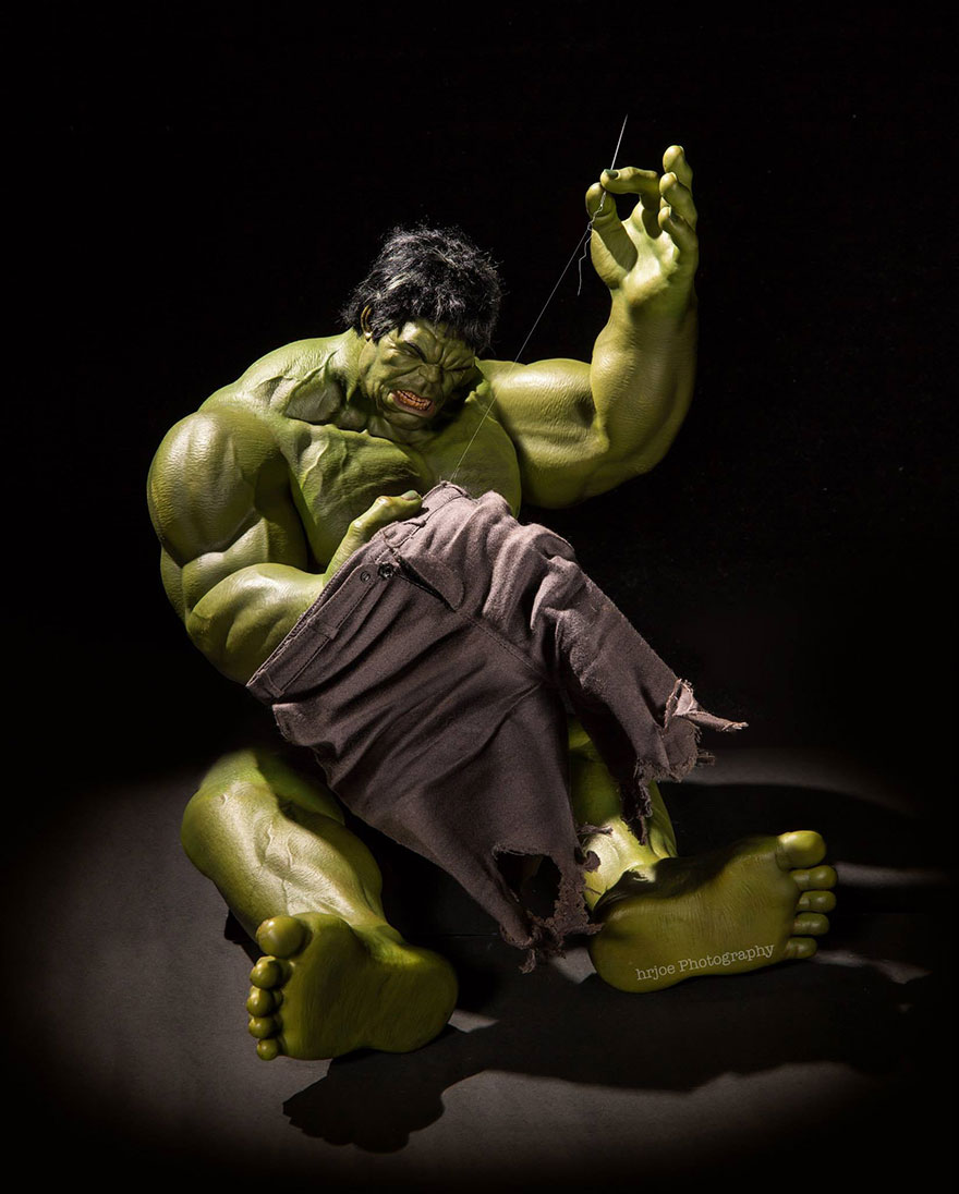 Superhero Action Figure Toys Photography Hrjoe 15