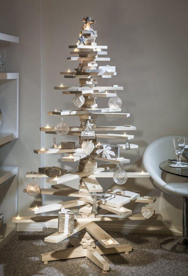 Los 12 Arboles De Navidad Mas Originales Hechos En Casa 8