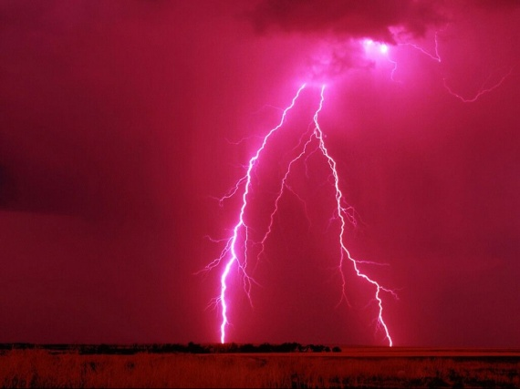 Nature Paysages Orage Eclairs Img