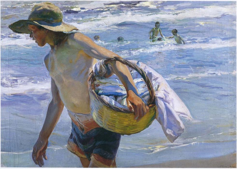 Joaquin Sorolla Y Bastida Fisherman In Valencia