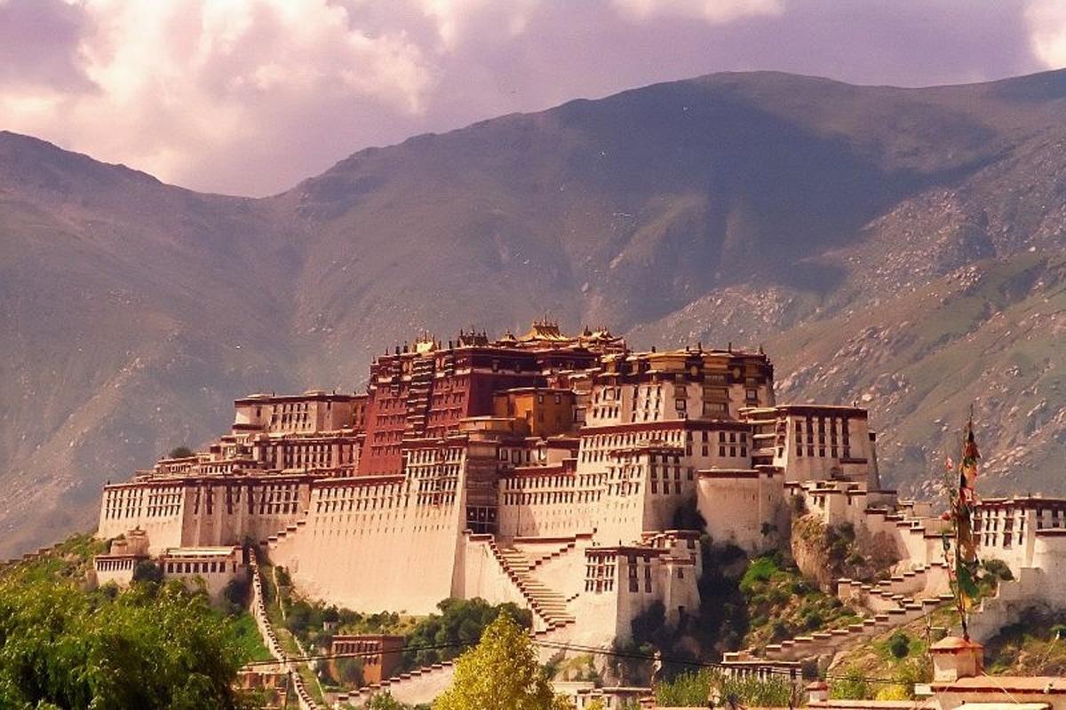Potala, Palacio en Lhasa, Tíbet
