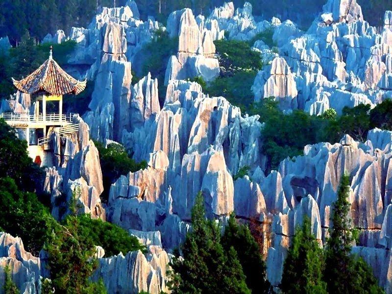 Stone Forest Of Lunan Yunnan