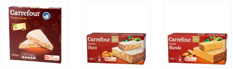 Turrones Carrefour Singluten