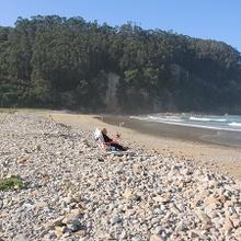 Playa San Pedro de la Ribera - Cudillero