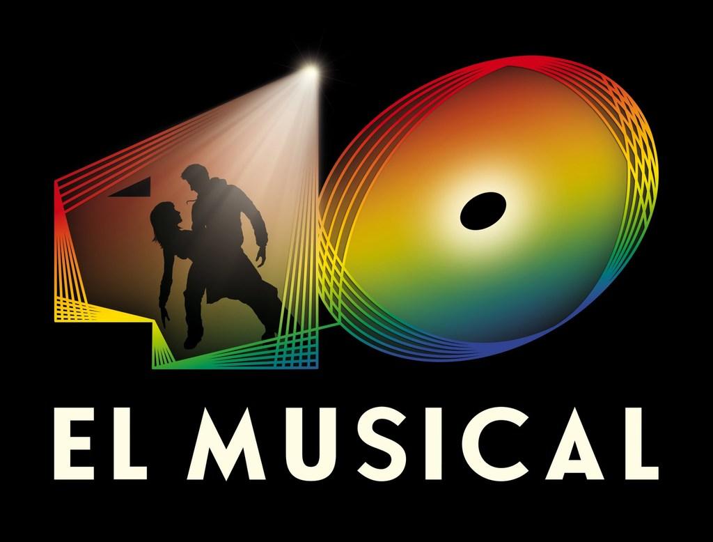 40 El Musical Logo