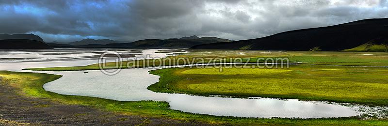 Río Tungnaá, Landmannalaugar
