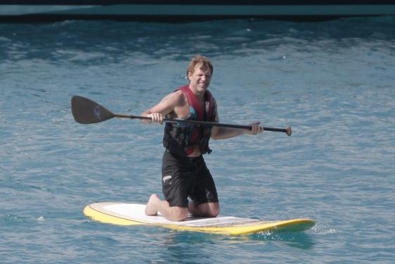 Bon Jovi durante sus vacaciones en St Barthelemy