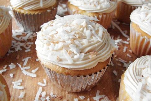 Ccf Coconut Cupcakes