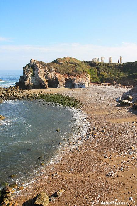 El Cuerno Beach Asturias Eastern Side