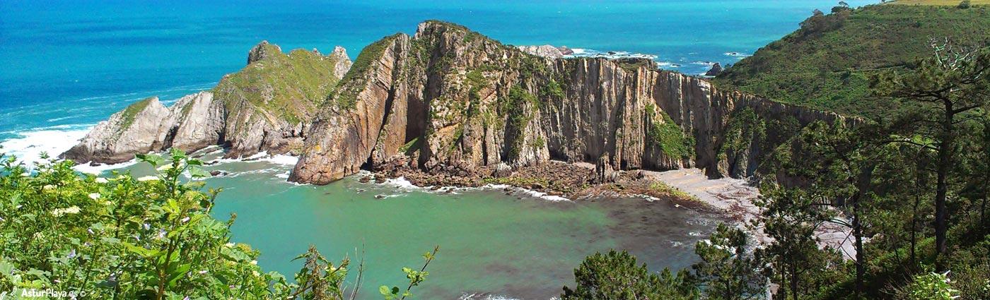 Punta Nocedal con Isla Cogolla a la izquierda