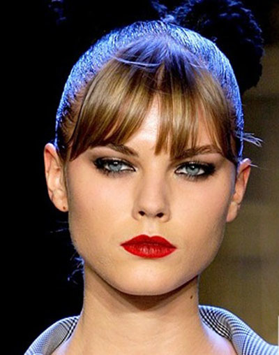 Fall Makeup Trend 2011 Red Lips