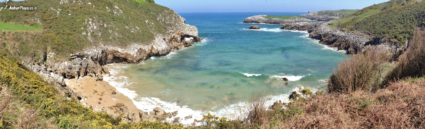 Portiellu Beach Llanes Asturias1