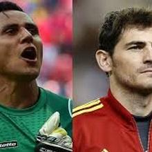 Iker Casillas y Keylor Navas