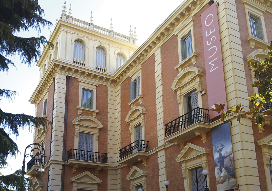 Fachada exterior del Museo Lázaro Galdiano