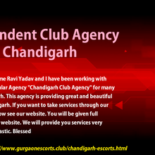 Newly Escorts Club Agency Chandigarh