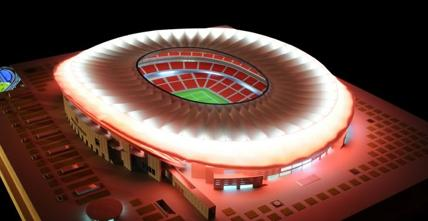 The new stadium will be inaugurated in 2017