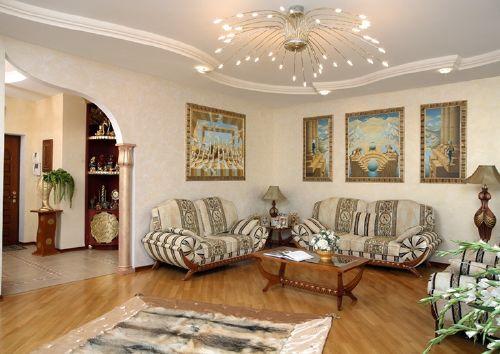 Sala Elegante Y Moderna2
