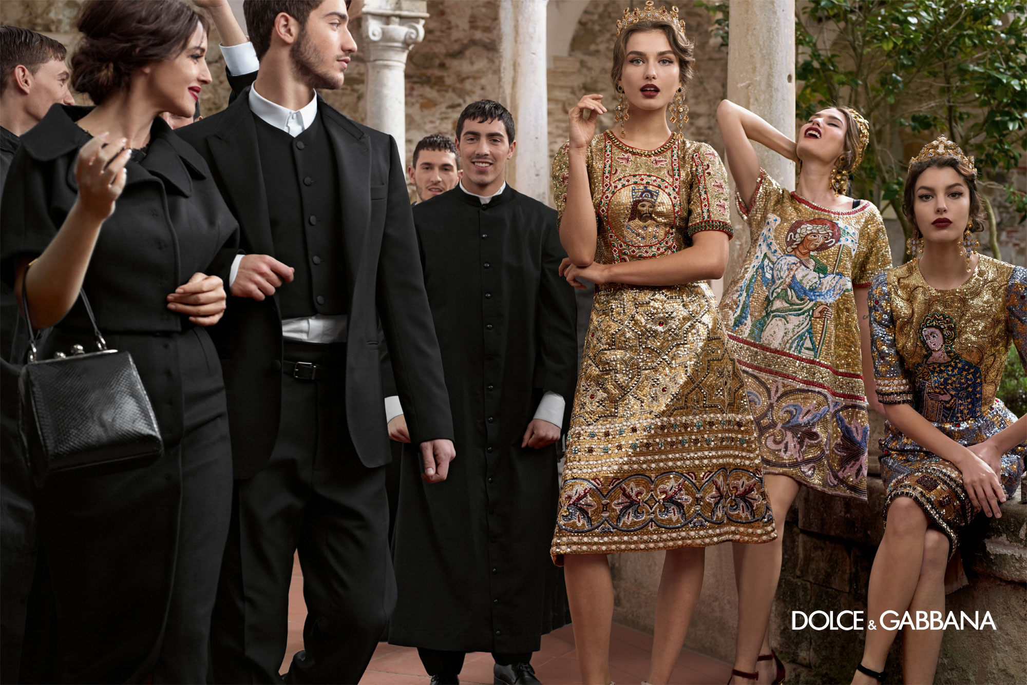 Dolce And Gabbana Fw 2014 Women Adv Campaign 7