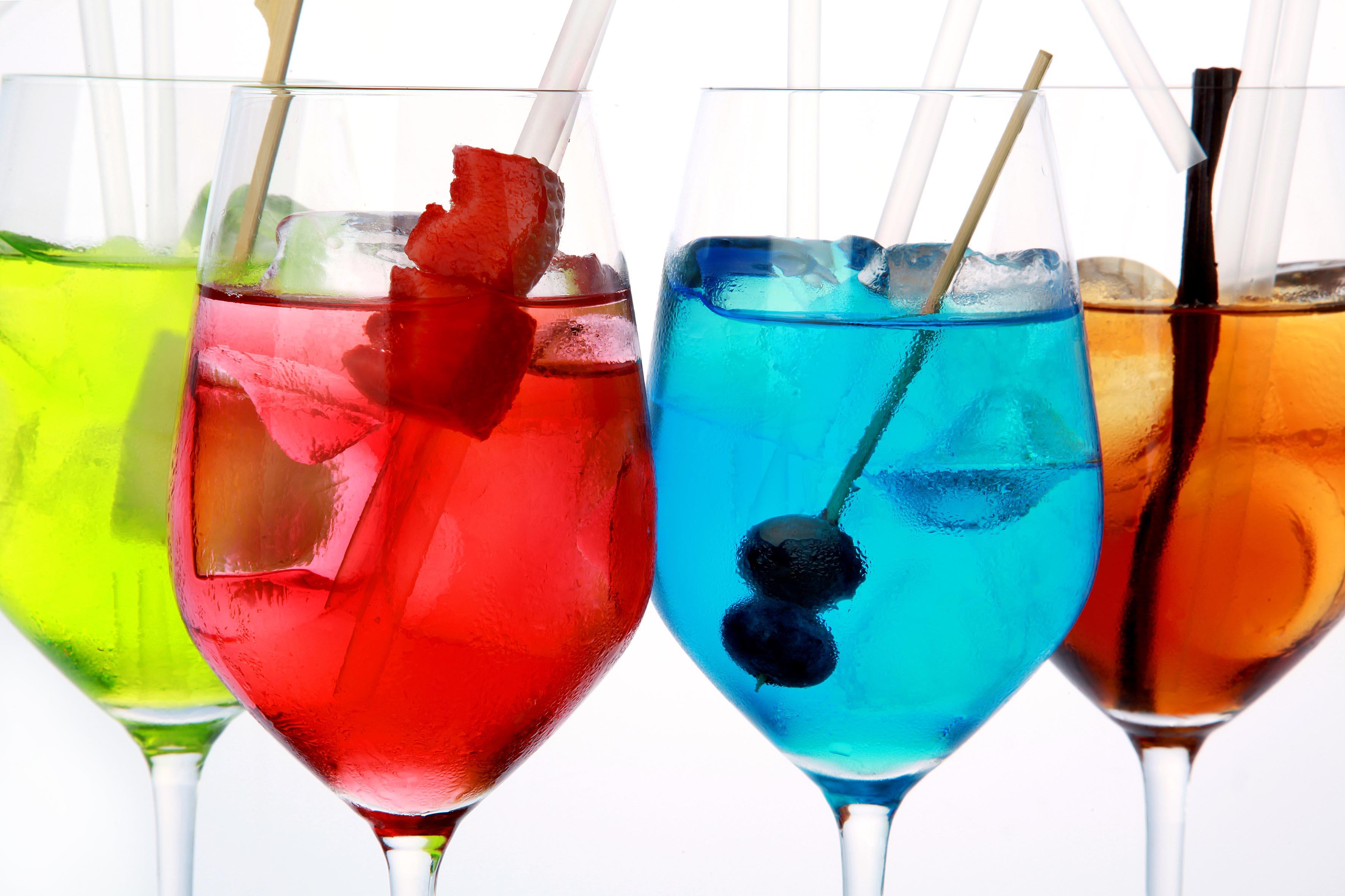 Glassbar Rebujitos Colores Manzanilla