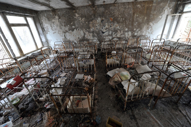Pripyat Ukraine Chernobyl Workers Home 2