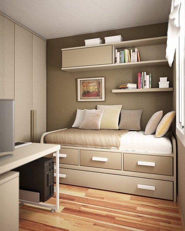 Small Teen Room Design Idea 4