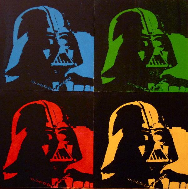 Darth Vader Pop Art By Alaynaphoto D38cziz