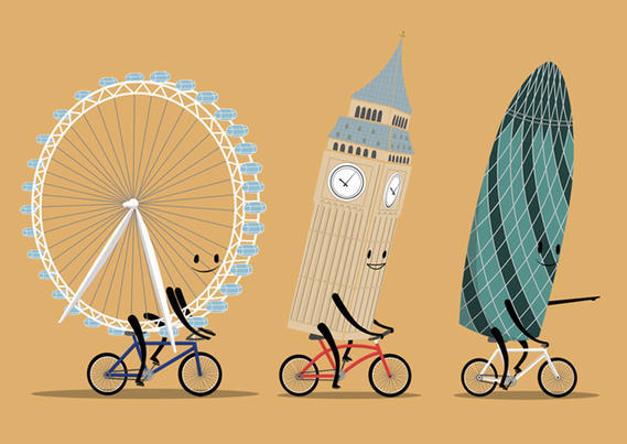 Exploring London On A Bicycle