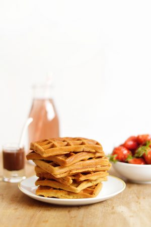 Sweet And Sour Gaufres Vegan Sans Gluten Rapide Facile 8 300x452