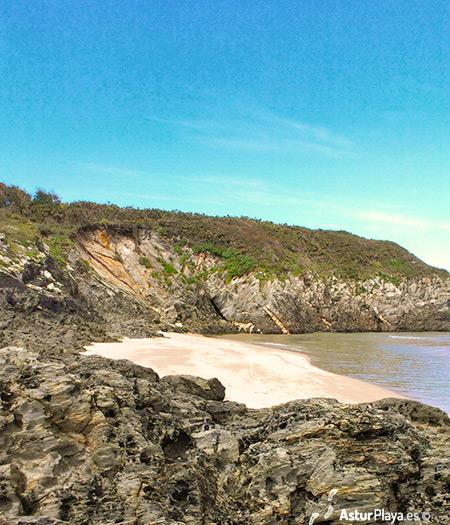 La Paloma Esteiro Beach Asturias Tapia