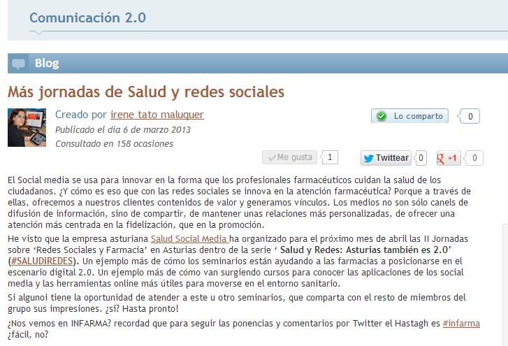 Mas Jornadas De Salud Y Redes Sociales Higiacomunidad Es