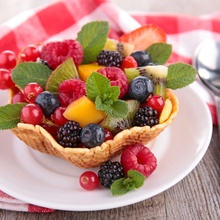 Cocteles de frutas sencillos saludables