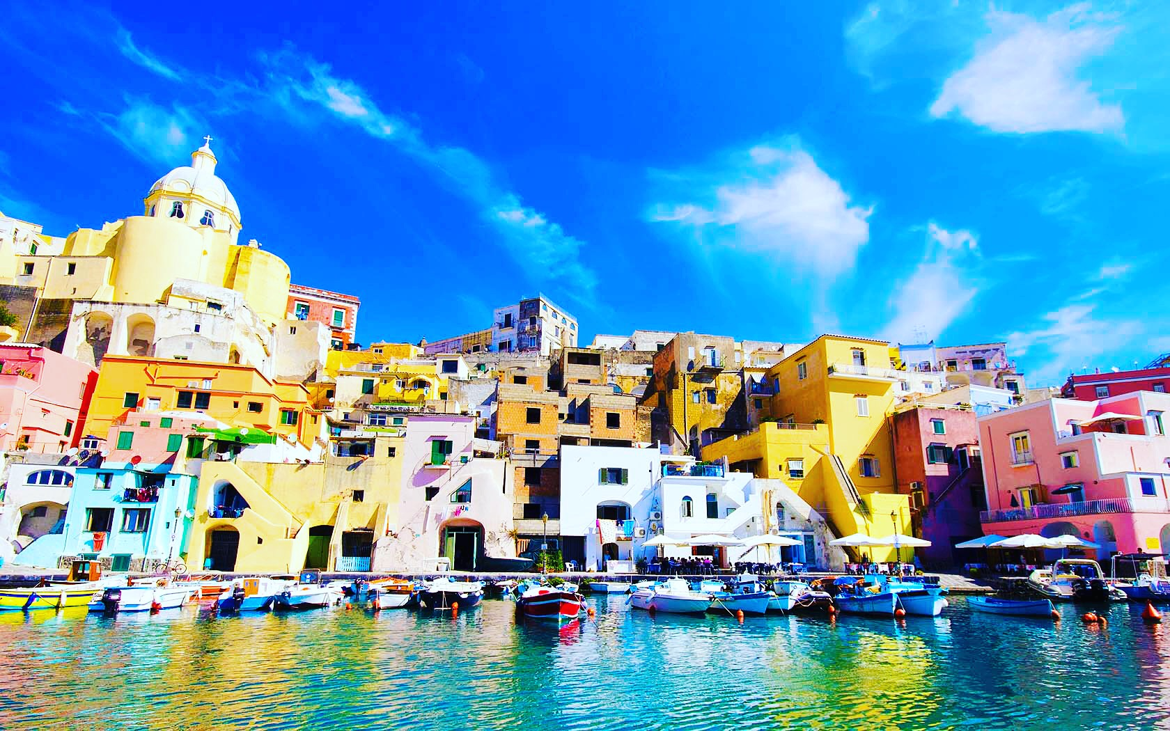 Yanpy Post 152 Sailing Naples Italy Procida Island