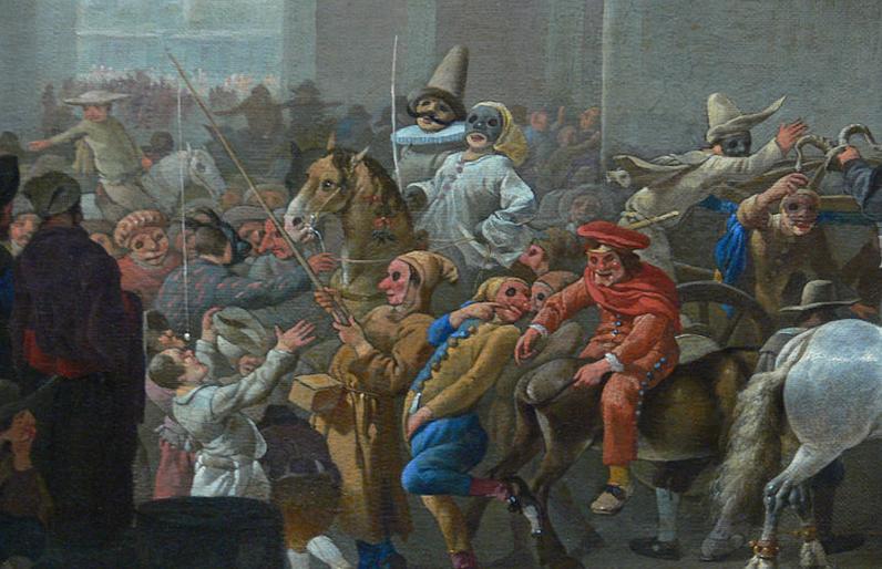 Carnaval en Roma (1650)