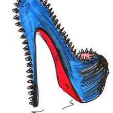 Louboutin en illustrations