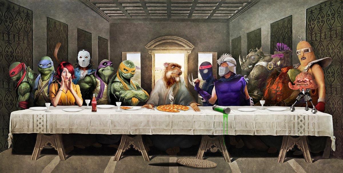 Supper Tortugas Nija