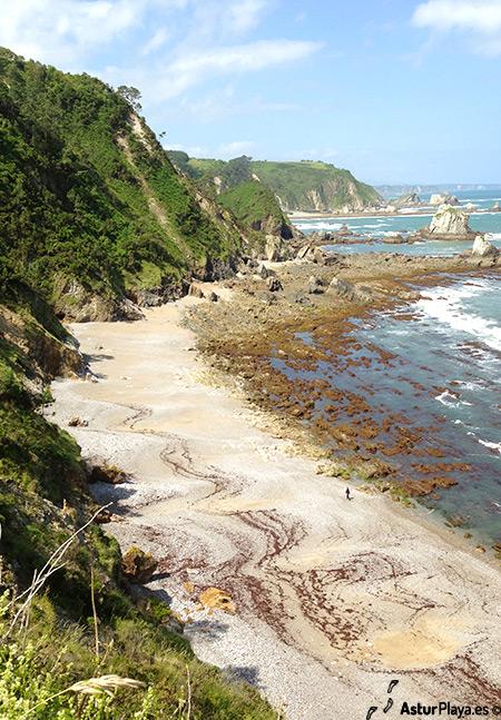 Del Silencio Beach Asturias Western Side