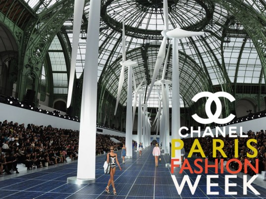 Chanel Spring Summer 2013 Paris Fashion Week Solar Panels 1 537x402