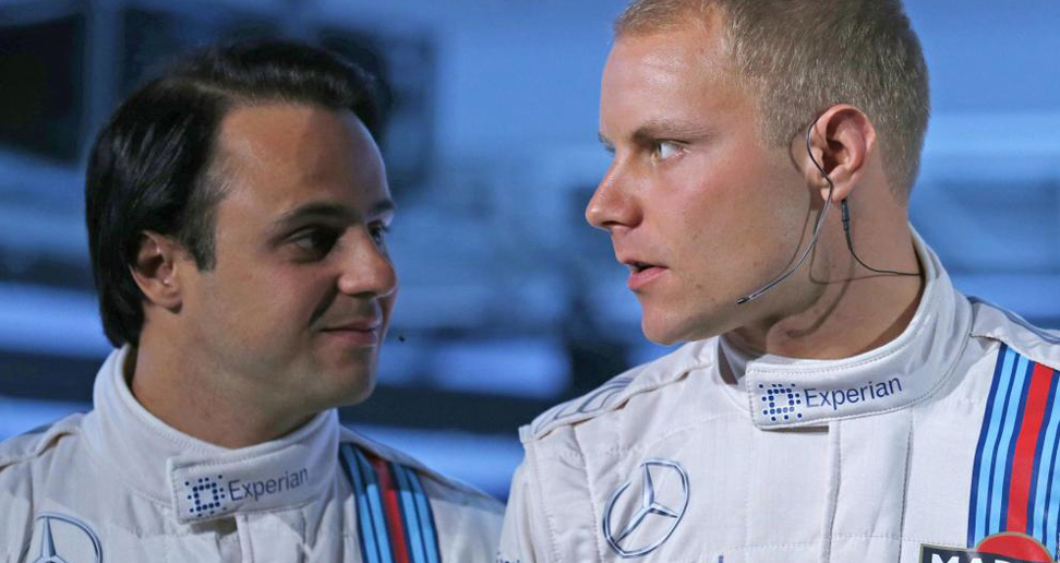 Felipe Massa y Valteri Bottas