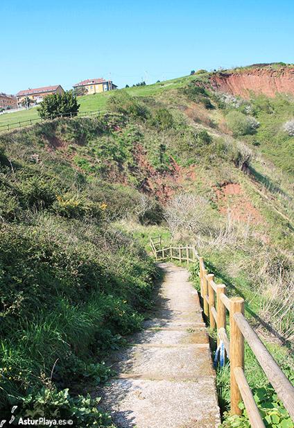 Stairway To Rebolleres Beach