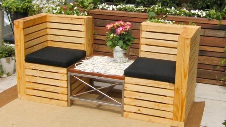 Muebles Hechos Con Palets De Madera1