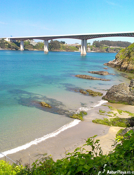 San Roman Beach In Asturias Spain