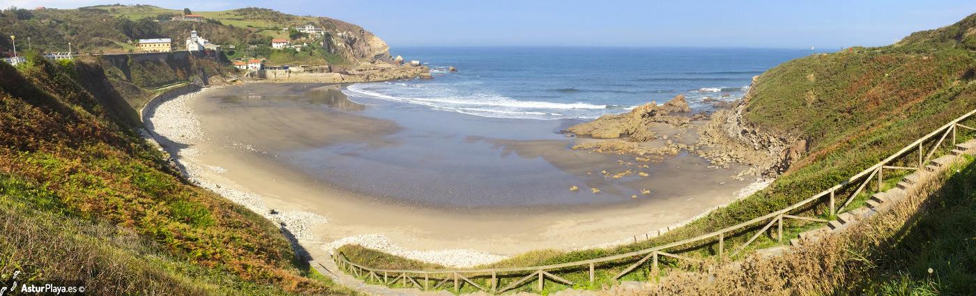 Arnao Beach Castrillon Mainpic