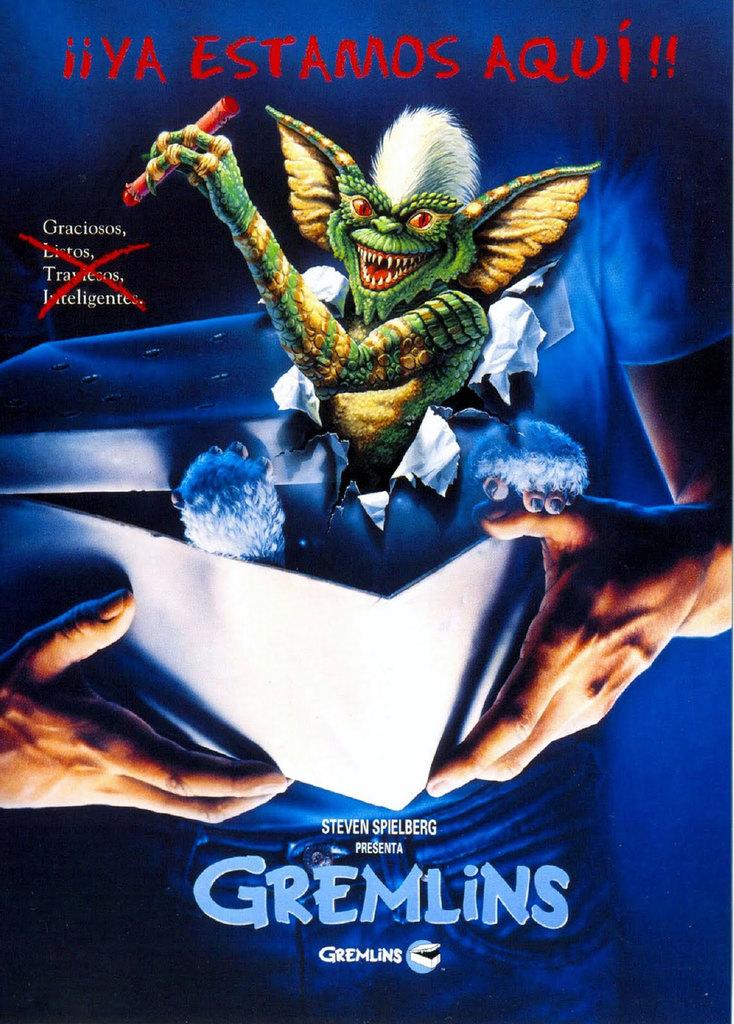 Tumbaabierta Gremlins Poster Cartel