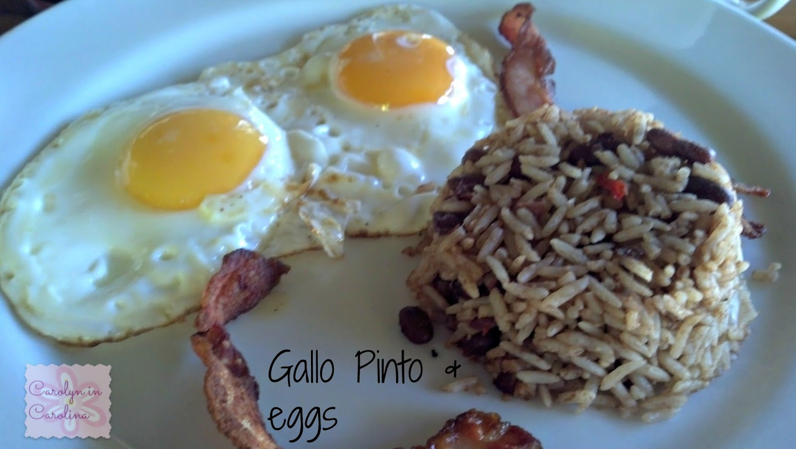 Gallo Pinto And Eggs