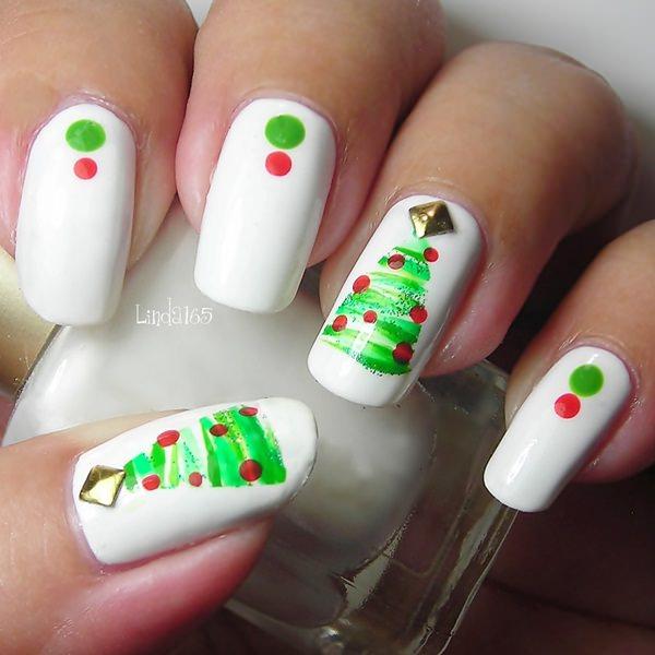Christmas Nail Art 29