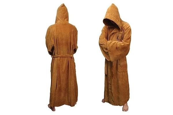 Jedi Star Wars Hooded Bath Robe 22076 L