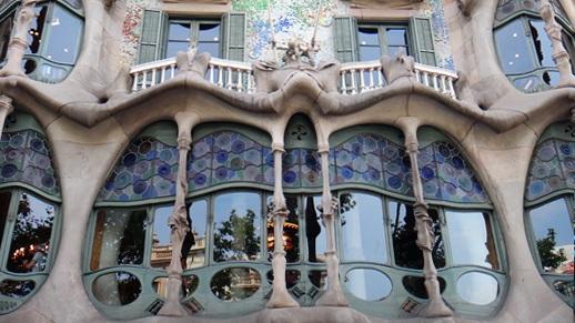 Barcelona Entrada Casa Batllo