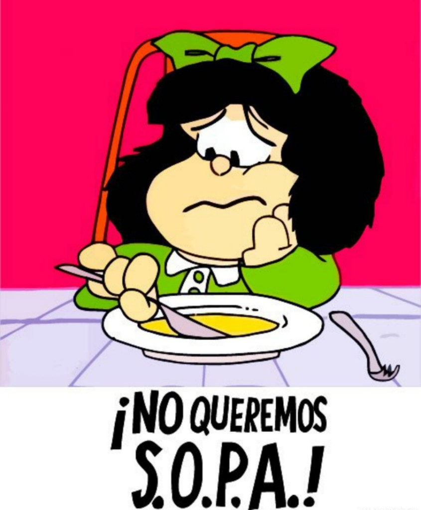 Mafalda Y La Sopa Color