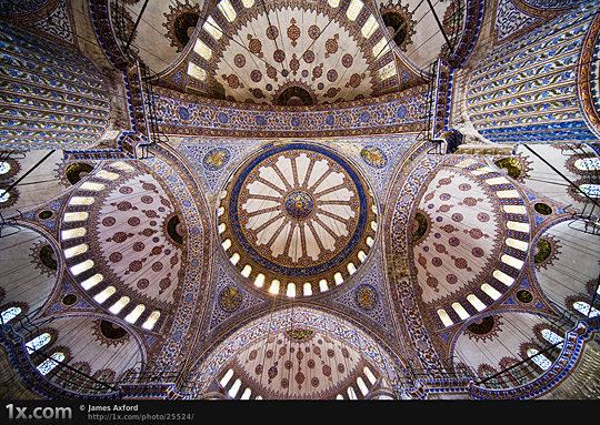 Blue mosque by James Axford