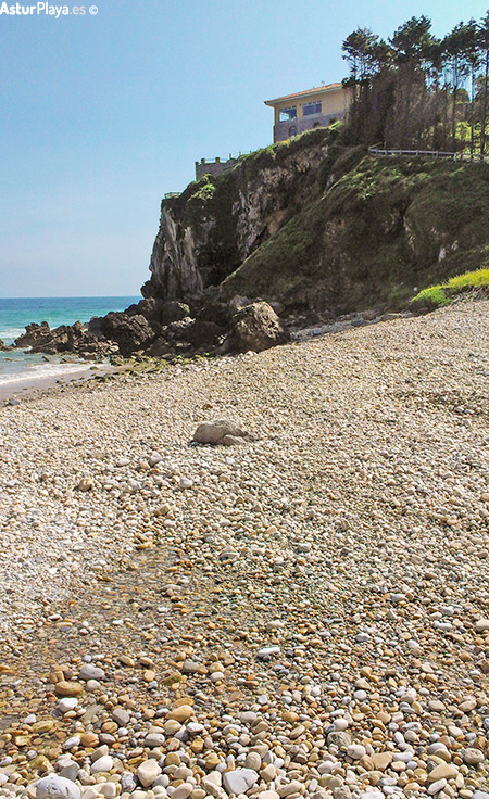 Vidiago Beach Llanes Asturias Cliff